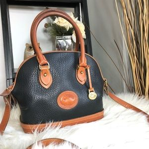 Vintage Dooney and Bourke Norfolk Satchel